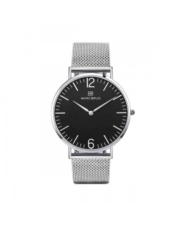 Marc Brüg Ladies' Elysee Watch With Silver Case And Argent Dial