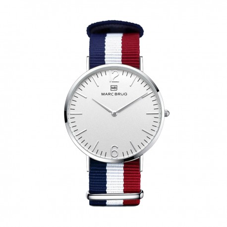 Marc Brüg Ladies' Ibiza Watch With Silver Case And Argent Dial