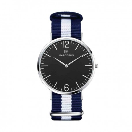 Marc Brüg Ladies' Bali Watch With Silver Case And Argent Dial