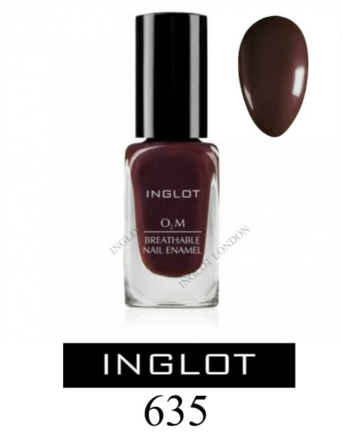 Inglot O2M 635 Breathable Nail Polish Varnish Enamel BNIB UK STOCK ...