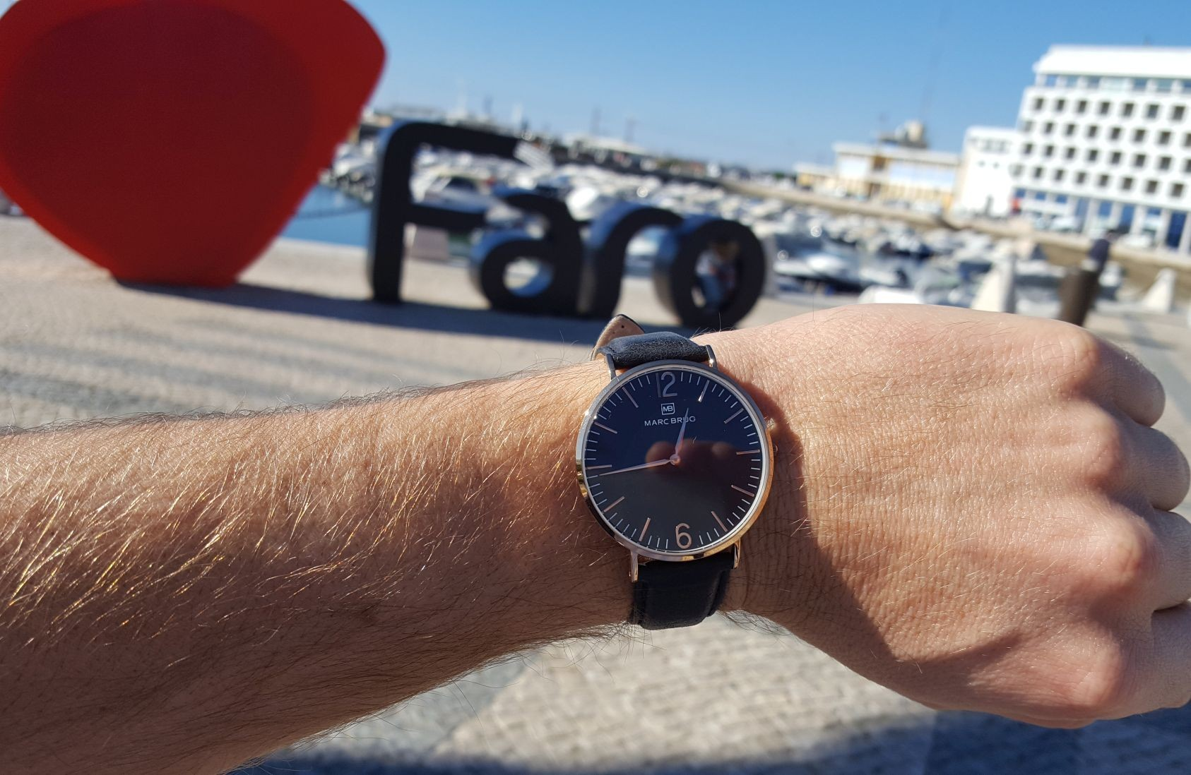 Marc Brüg Watches in Faro